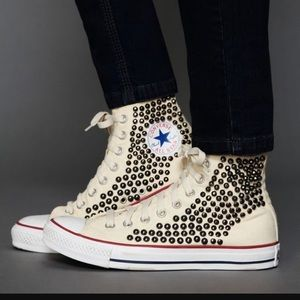 Free People Studded Converse